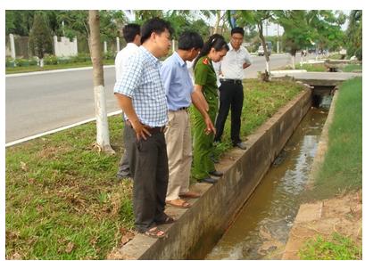 Tỉnh Bắc Giang kiểm tra và xử lý các công ty vi phạm về môi trường